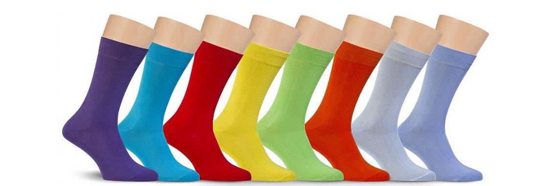 Мужские однотонные носки